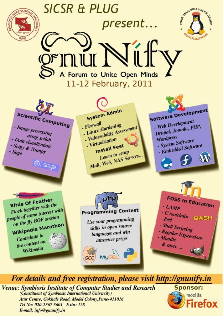 GNUnify'11 Poster
